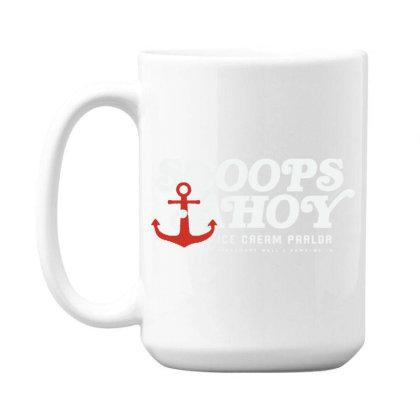 Scoops Ahoy 15 Oz Coffe Mug Designed By Pinkanzee