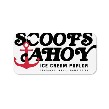 Scoops Ahoy Ice Cream Parlor Bicycle License Plate Designed By Pinkanzee