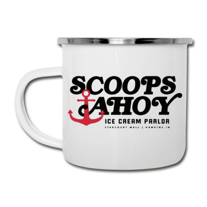 Scoops Ahoy Ice Cream Parlor Camper Cup Designed By Pinkanzee