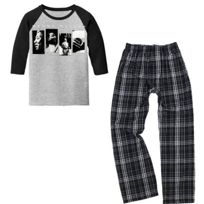 Muddy Waters Youth 3/4 Sleeve Pajama Set Designed By Pinkanzee