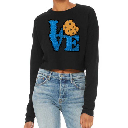 Love Cookies Cropped Sweater Designed By Pinkanzee