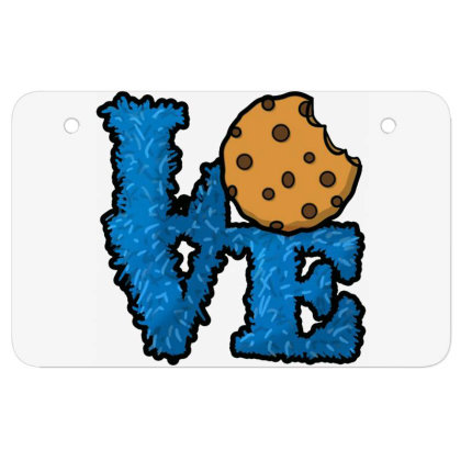 Love Cookies Atv License Plate Designed By Pinkanzee