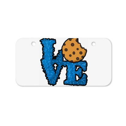 Love Cookies Bicycle License Plate Designed By Pinkanzee