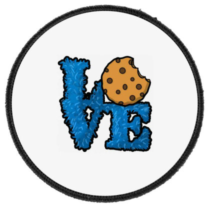 Love Cookies Round Patch Designed By Pinkanzee