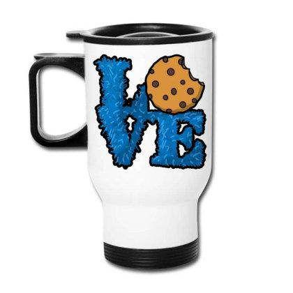 Love Cookies Travel Mug Designed By Pinkanzee