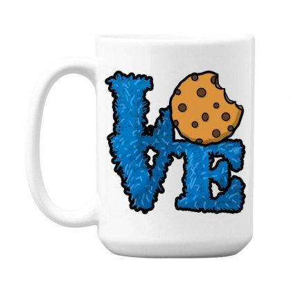 Love Cookies 15 Oz Coffe Mug Designed By Pinkanzee