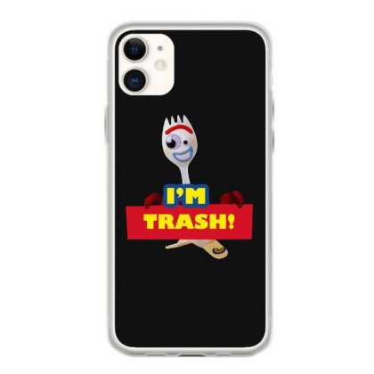 I'm Trash   Forkie Iphone 11 Case Designed By Pinkanzee