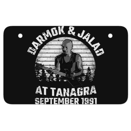 Darmok And Jalad At Tanagra Atv License Plate Designed By Pinkanzee