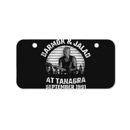Darmok And Jalad At Tanagra Bicycle License Plate Designed By Pinkanzee