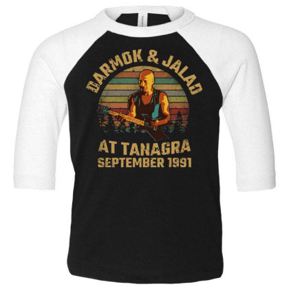 Darmok And Jalad At Tanagra Toddler 3/4 Sleeve Tee Designed By Pinkanzee