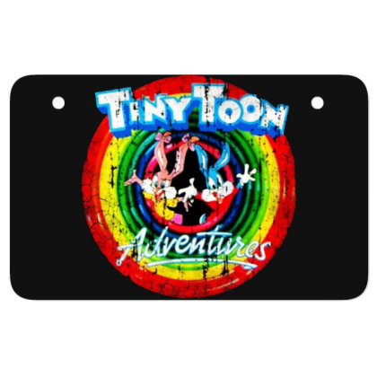 Adventure School Cartoon Worn Look Tv Show Atv License Plate Designed By Pinkanzee