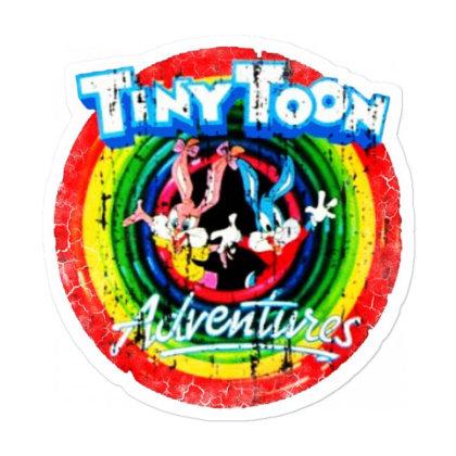 Adventure School Cartoon Worn Look Tv Show Sticker Designed By Pinkanzee