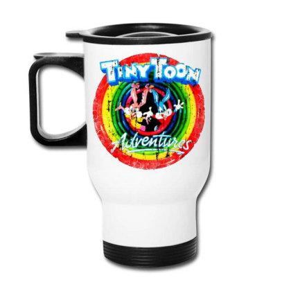 Adventure School Cartoon Worn Look Tv Show Travel Mug Designed By Pinkanzee