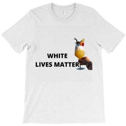 White Lives Matter T-shirt Designed By Cuser3853