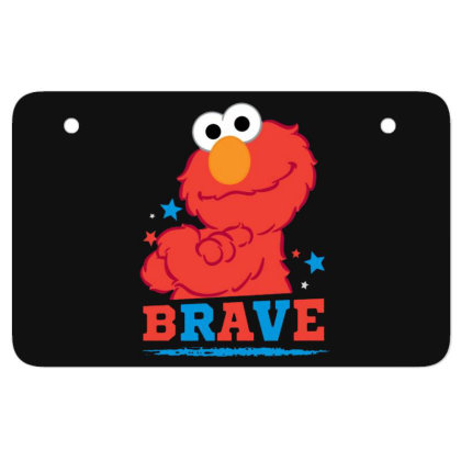 Brave Elmo Atv License Plate Designed By Pinkanzee