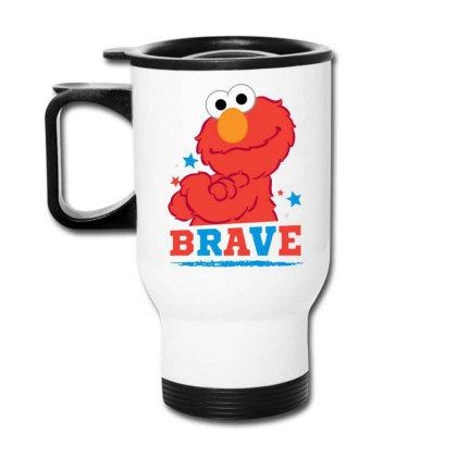 Brave Elmo Travel Mug Designed By Pinkanzee