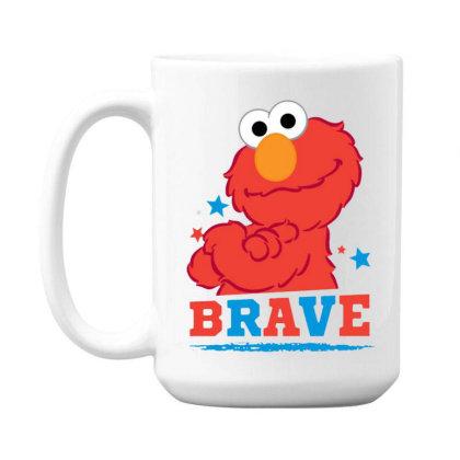 Brave Elmo 15 Oz Coffe Mug Designed By Pinkanzee