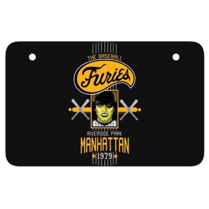 Baseball Atv License Plate Designed By Pinkanzee