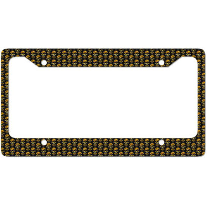 Baseball License Plate Frame Designed By Pinkanzee