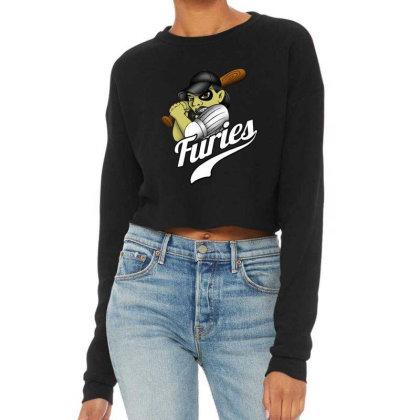 Baseball Cropped Sweater Designed By Pinkanzee