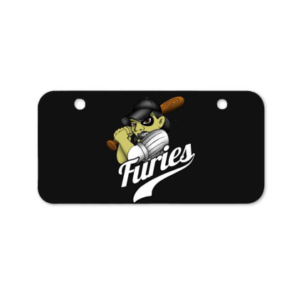 Baseball Bicycle License Plate Designed By Pinkanzee
