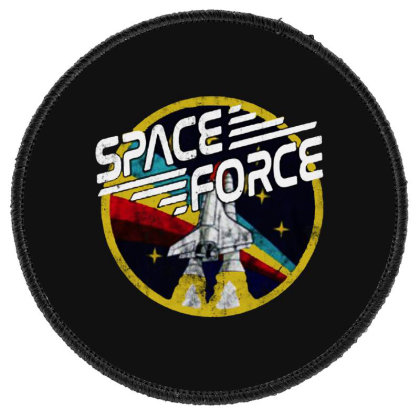 United States Space Force Vintage Round Patch Designed By Pinkanzee