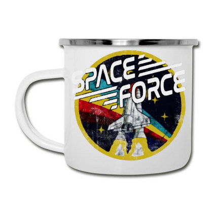 United States Space Force Vintage Camper Cup Designed By Pinkanzee