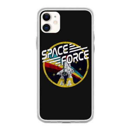 United States Space Force Vintage Iphone 11 Case Designed By Pinkanzee