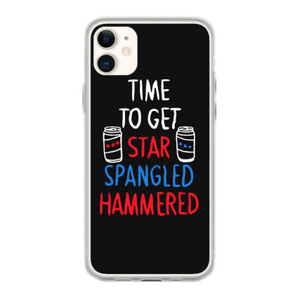 Time To Get Star Spangled Hammered Iphone 11 Case Designed By Pinkanzee