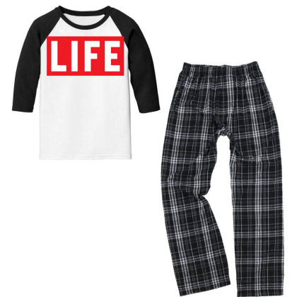 This Is The End James Franco Life Magazine Youth 3/4 Sleeve Pajama Set Designed By Pinkanzee