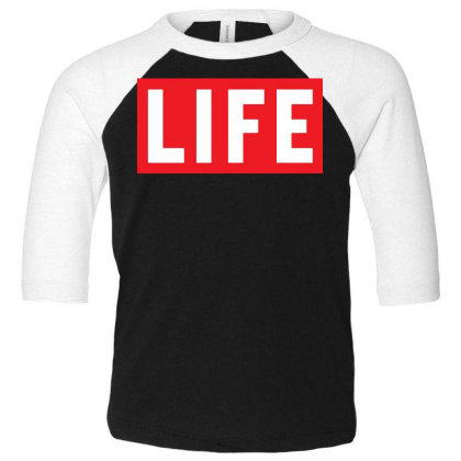 This Is The End James Franco Life Magazine Toddler 3/4 Sleeve Tee Designed By Pinkanzee