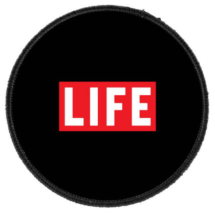This Is The End James Franco Life Magazine Round Patch Designed By Pinkanzee