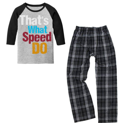 That's What Youth 3/4 Sleeve Pajama Set Designed By Pinkanzee