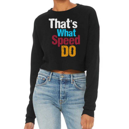 That's What Cropped Sweater Designed By Pinkanzee