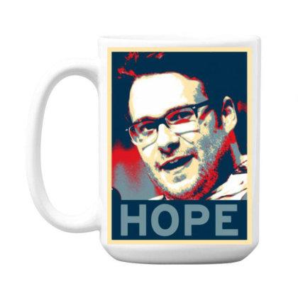 Hope Poster 15 Oz Coffe Mug Designed By Pinkanzee
