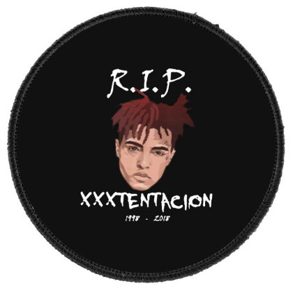 Rest In Peach Round Patch Designed By Pinkanzee
