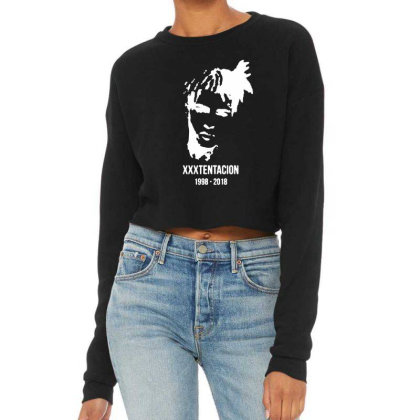 Rest In Peach 1998 2018 Cropped Sweater Designed By Pinkanzee