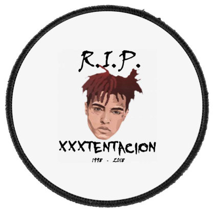 Rest In Peach 1998 2018 Round Patch Designed By Pinkanzee