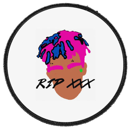 Rest In Peach 1998 2018 Tees Round Patch Designed By Pinkanzee