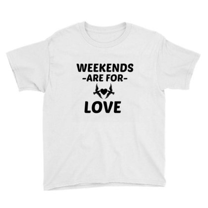 Love Weekend Youth Tee Designed By Perfect Designers