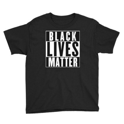 Black Lives Matter Youth Tee Designed By Kiva27