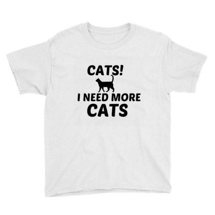 More Cats Youth Tee Designed By Perfect Designers