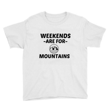 Mountain Weekend Youth Tee Designed By Perfect Designers