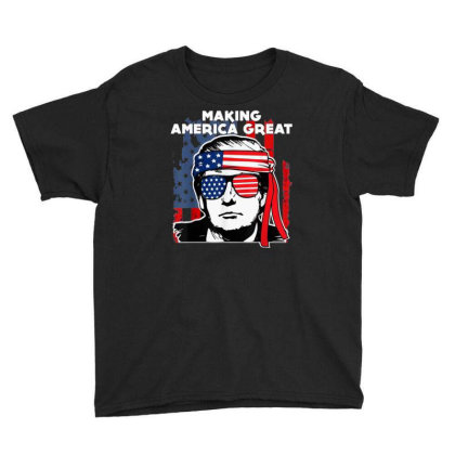 Making America Great Youth Tee Designed By Kakashop