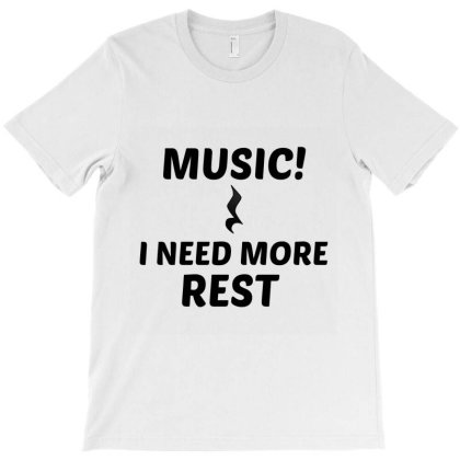 Music Rest T-shirt Designed By Perfect Designers