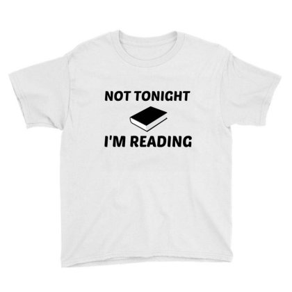 Not To Night Reading Youth Tee Designed By Perfect Designers