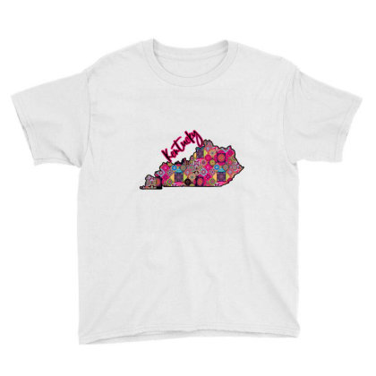 Pink Kentucky Youth Tee Designed By Bettercallsaul