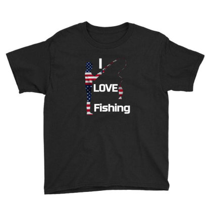 I Love Fishing Youth Tee Designed By Bettercallsaul