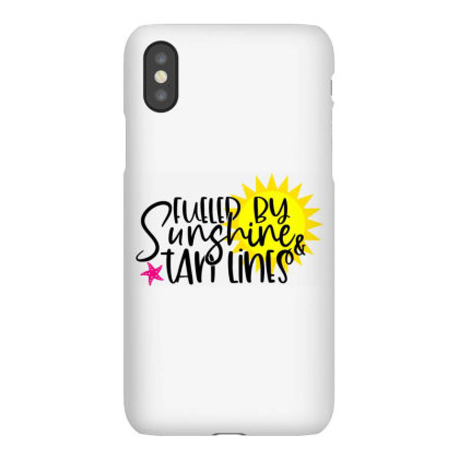 Fueled By Sunshine & Tan Lines Iphonex Case Designed By Purpleblobart