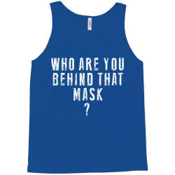 behind the mask Tank Top | Artistshot